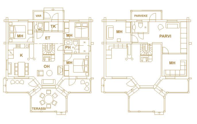 Авангард поселка — это 4 дома
